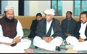 چکوال : تحریک منہاج القرآن چکوال کے وفد کی سید اجلال شاہ بخاری سے خانپور میں ملاقات