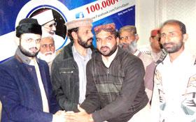 منہاج القرآن ضلع قصور کے قائدین کی ڈاکٹر حسن محی الدین قادری کیساتھ نشست