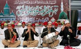 مجلس ختم الصلوۃ علی النبی صلی اللہ علیہ وآلہ وسلم - دسمبر 2012