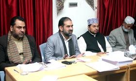 تحریک منہاج القرآن پنجاب کے کوآرڈینیٹرز کا اجلاس