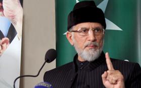 Dr Tahir-ul-Qadri addresses press conference
