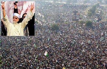 10 جنوری کی مہلت ورنہ عوامی مارچ : ڈاکٹر طاہرالقادری