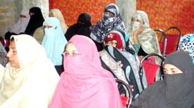 گوجر خان : منہاج القرآن ویمن لیگ کا ورکرز کنونشن
