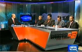 Dunya @ 8 with Malick (Qadri bamuqabila siyasi biradri – Fateh kiski?) – 3rd January 2013