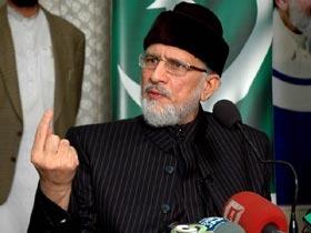 Tribune: Strong stance: No talks on interim govt before long march, says Qadri