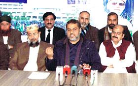 فیصل آباد : شیخ زاہد فیاض کی پریس کانفرنس