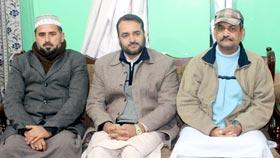 وزیر ٹرانسپورٹ آزاد جموں و کشمیر منہاج القرآن میرپور کا مرکزی سیکرٹریٹ کا دورہ