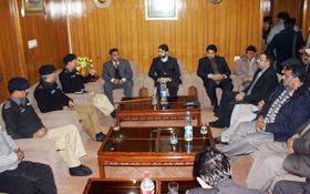 CCPO اور کمشنر لاہور ڈویژن کی تحریک منہاج القرآن کی اعلیٰ قیادت سے ملاقات