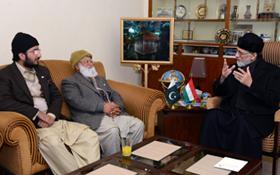ڈاکٹر طاہرالقادری مستقبل کی قیادت ہیں، لاکھوں مرید لانگ مارچ میں شامل ہونگے : پیر سلطان احمد علی