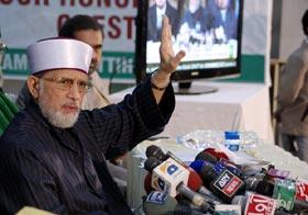 Geo News: Dr Tahir-ul-Qadri presents charter of demands