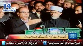 Dawn News - Dr Qadri's Long March - 09-00PM