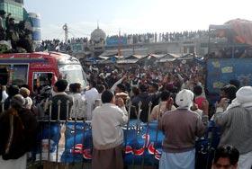 لانگ مارچ، اہلیان جہلم کا تاریخی استقبال (لمحہ بہ لمحہ)