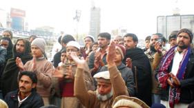 گوجر خان: تحریک منہاج القرآن کے زیراہتمام کامیاب اور پرامن لانگ مارچ پر جشن