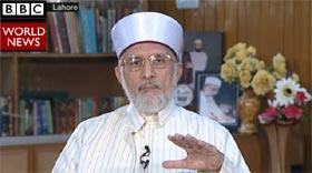 BBC World (HARLDtalk) Interview - 'I am against military law' said Dr Tahir-ul-Qadri