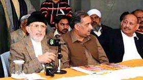 Dr Tahir-ul-Qadri unveils plan for 'Revolution Marches'