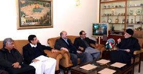 PML-Q delegation holds consultations with Dr Tahir-ul-Qadri