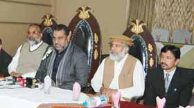 گوجرانوالہ : ناظم اعلی تحریک منہاج القرآن شیخ زاہد فیاض کی پریس کانفرنس