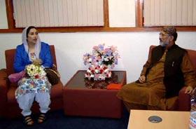 Benazir Bhutto becomes life member of Minhaj-ul-Quran International