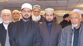 Shaykh Idrees Qadri Al-Azhari visits MQI Denmark Headquarters