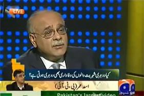 Dr Qadri ki petition kharij krny ka tarika drust ni - Najam Sethi