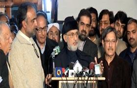 Dr Tahir-ul-Qadri and Govt. Delegation Press Conference – 16th Feb 2013