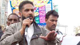 گوجرہ: سانحہ کوئٹہ، گوجرہ کے دھرنے میں پاکستان عوامی تحریک کے وفد کی شرکت