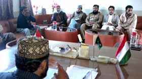 ملتان : تحریک منہاج القرآن کی بسلسلہ انقلاب مارچ میٹنگ