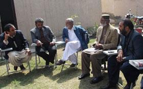 ملتان : کامیاب ترین جلسہ عام کرنے پر عہدیداران و کارکنان کے لیے تقریب سعید