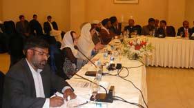 اسلام آباد: ڈائریکٹر انٹرفیتھ ریلیشنز منہاج القرآن کی نیشنل انٹرفیتھ ہارمنی کانفرس اسلام آباد میں شرکت