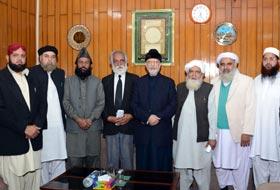 Supporting Dr Tahir-ul-Qadri duty of Ulama: Allama Nazakat Golarvi