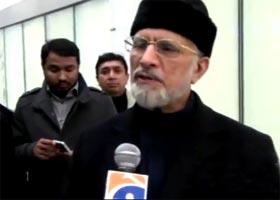 Dr Tahir-ul-Qadri warns of consequences of rigged polls