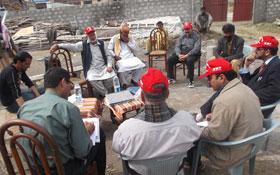 مظفرآباد : منہاج ویلفیئر فاؤنڈیشن کے وفد کا منہاج اسلامک سنٹر گوجرہ کا دورہ