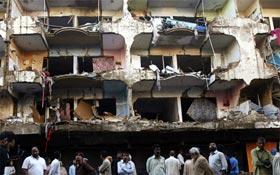 Isphahani Road, Karachi, bomb blasts strongly condemned