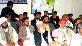 گوجر خان : پاکستان عوامی تحریک و تحریک منہاج القرآن کا مشترکہ اجلاس