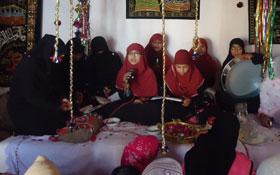 جہلم، لنگر پور: محفل میلاد و تقسیم اسناد آئیں دین سیکھیں کورس