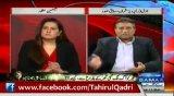 Musharraf's 'Shut Up' to Jasmeen on Tahir-ul-Qadri's Movement