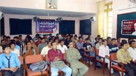 گجرات: مصطفوی سٹوڈنٹس موومنٹ کا یونیورسٹی آف گجرات میں نئے آنے والے طلبہ کے لیے ویلکم پارٹی کا انعقاد