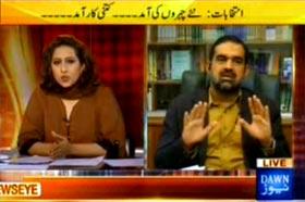Dr Raheeq Abbasi in News Eye with Meher Abbasi on Dawn News