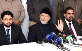 Sit-ins on polling day as per SC's ruling: Dr Tahir-ul-Qadri