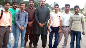 گجرات: تحریکِ منہاج القران گجرات کے رہنما سمیع اللہ وڑائچ کی ایم ایس ایم یونیورسٹی آف گجرات کے عہدیداران سے ملاقات