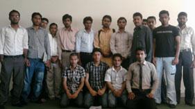 مصطفوی سٹوڈنٹس موومنٹ یونیورسٹی آف گجرات میں انجینئرنگ بلاک کی تنظیم سازی