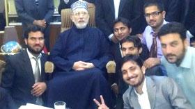 لاہور : ایم ایس ایم کی مرکزی کابینہ کی شیخ الاسلام ڈاکٹر محمد طاہر القادری سے خصوصی ملاقات