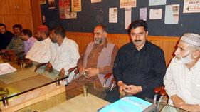 سیالکوٹ: تحریک منہاج القرآن کی ایگزیکٹو باڈی کا اجلاس