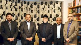 لندن: ممبر ہاؤس آف لارڈز برطانیہ لارڈ نذیر احمد کی شیخ الاسلام ڈاکٹر محمد طاہرالقادری سے ملاقات