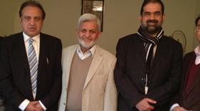 لندن: لارڈ میئر آف آکسفورڈ سٹی نیاز عباسی کا ڈاکٹر رحیق احمد عباسی کے اعزاز میں استقبالیہ