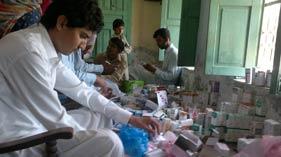 خان پور: منہاج ویلفیئر فاؤنڈیشن کے زیر اہتمام فری میڈیکل کیمپ