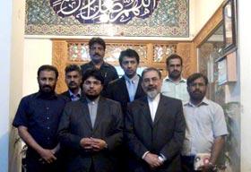 ڈاکٹر حسین محی الدین قادری کا کلچرل قونصلیٹ اسلامی جمہوریہ ایران لاہور کا وزٹ