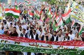 پاکستان عوامی تحریک گوجرانوالہ کے زیراہتمام عوامی ریلی