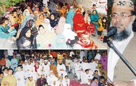 پاکستان عوامی تحریک فیصل آباد (PP-70) کے زیراہتمام نظام بدلو سیمینار