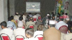 پاکستان عوامی تحریک کے عالمگیر ورکرز کنونش میں گوجر خان کے ورکرز کی شمولیت